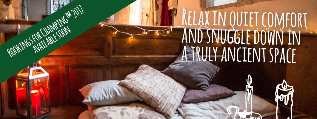 Le «champing» ou quand les églises s'inspirent d'Airbnb