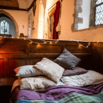 Cosy comfort in West Stourmouth box pew